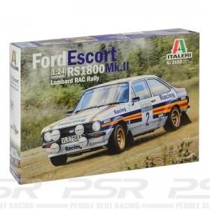 Italeri Ford Escort RS1800 MK.II RAC Kit