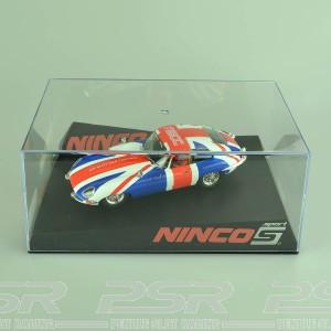 Ninco Jaguar E-Coupe Union Jack UKSCF Limited Edition