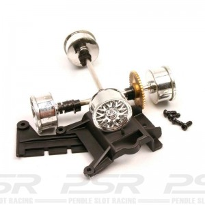Carrera 1/24th Front & Rear Axle for Panoz