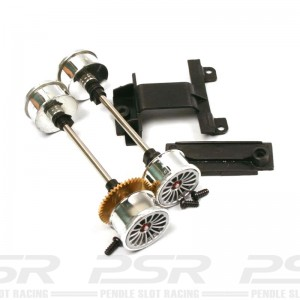 Carrera 1/24th Front & Rear Axle for Audi R8