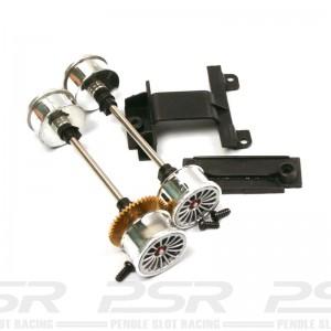 Carrera 1/24th Front & Rear Axle for Audi R8
