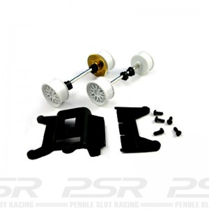 Carrera 1/24th Front & Rear Axle for Audi A4