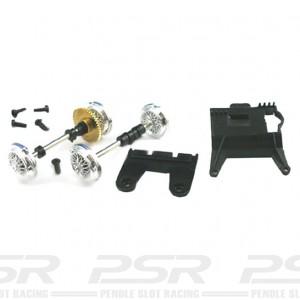 Carrera Front & Rear Axle for Jaguar E-type 85130