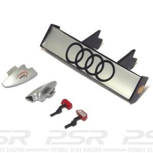 Carrera Audi R8R Spoiler & Mirrors