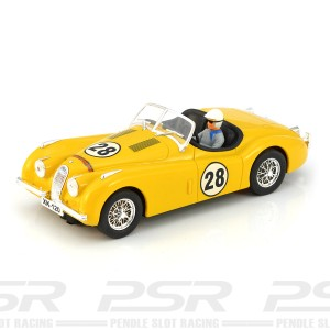 Ninco Jaguar XK120 No.28 Yellow
