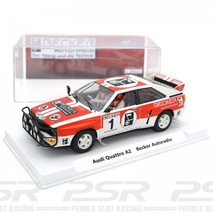 Fly Audi Quattro A2 No.1 Becker Autoradio