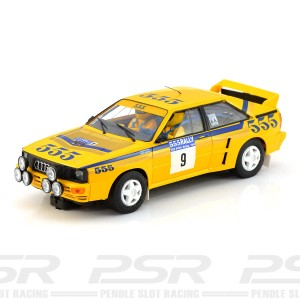 Fly Audi Quattro A2 No.9 Rally Hong Kong-Beijing 1985
