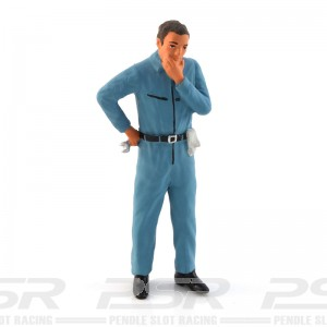 Figurenmanufaktur Mechanic Blue Figure