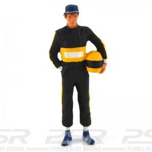Figurenmanufaktur Racing Driver with Helmet Black Figure