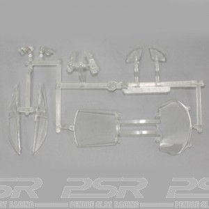 Arrow Slot Saleen S7-R Windscreen & Lights AR-3001F