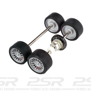Avant Slot Complete Front & Rear Axles AS20407