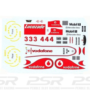 All Slot Car Decal GP Button & Hamilton
