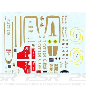 All Slot Car GP Decal Raikkonen & Grosjean ASGP016