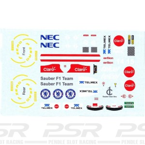 All Slot Car Decal GP Kobayashi & Perez