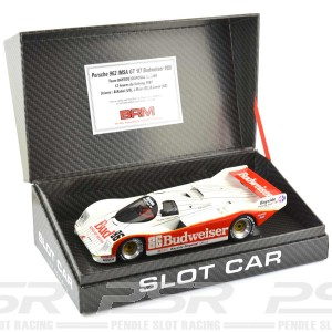 BRM Porsche 962 IMSA GT No.86 Budweiser - 1:24th Scale