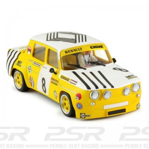BRM 1/24 Renault R8 Gordini Yellow Renault No.8