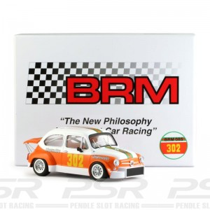 BRM Fiat Abarth 1000 TCR Jagermeister No.302 - 1/24th Scale