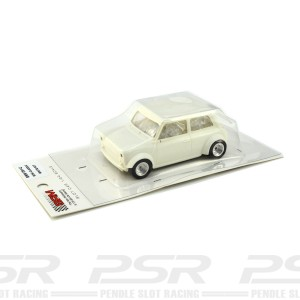 BRM Mini Cooper Classic White Kit - 1/24th Scale