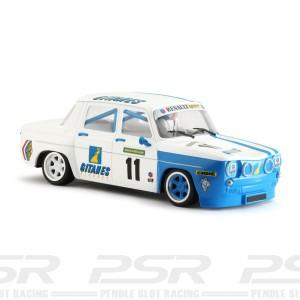 BRM Renault R8 Gordini White Gitanes No.11
