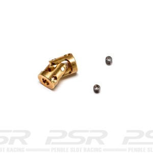BRM Minicars Brass Cardan Joint Camber System
