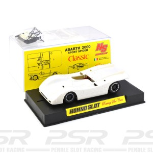 Nonno Slot Fiat Abarth 2000 White Kit