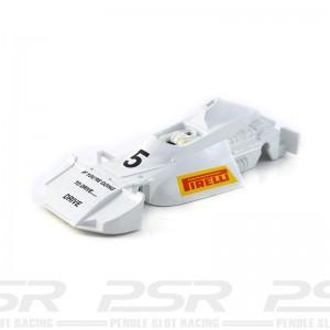 Scalextric Brabham BT44B No.5 Pirelli White Body