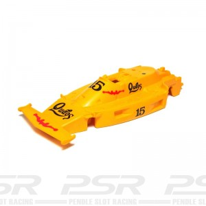 Scalextric Ferrari 312T No.15 Qudos Yellow Body