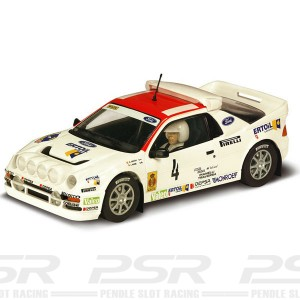 Scalextric Ford RS200 No.4 Costa Brava 1986 C3305
