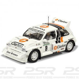 Scalextric Metro 6R4 Clarion Lombard RAC Rally 1986 C3306
