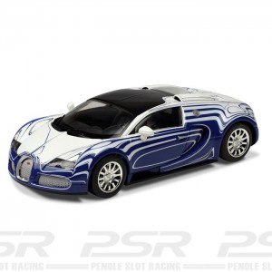 Scalextric Bugatti Veyron LOr Blanc C3394