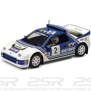 Scalextric Ford RS200 No.2 Haynes 1991 Rallycross C3407