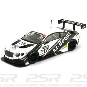 Scalextric Bentley Continental GT3 No.17 M-Sport