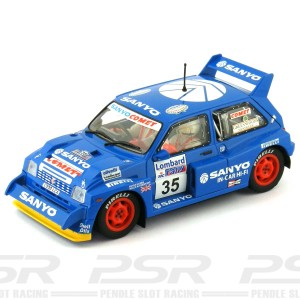Scalextric MG Metro 6R4 No.35 Sanyo