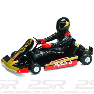 Scalextric Super Kart No.8 Black