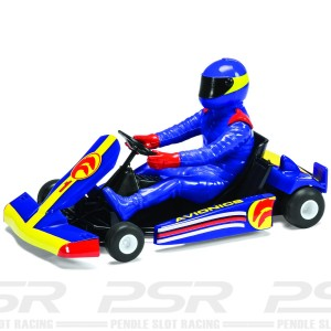 Scalextric Super Kart No.1 Blue