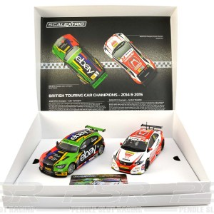 Scalextric BTCC Champions Twin Pack