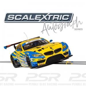 Scalextric Autograph Series BMW Z4 GT3 Andy Priaulx