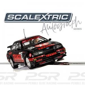 Scalextric Autograph Series Ford Sierra RS500 BTCC Steve Soper