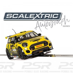 Scalextric Autograph Series BMW Mini Cooper F56 Harry Vaulkhard