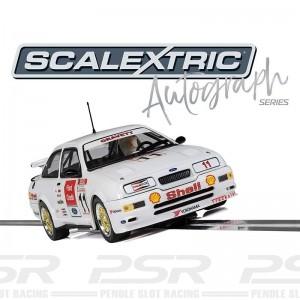 Scalextric Autograph Series Ford Sierra RS500 BTCC Robb Gravett