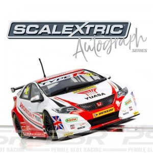 Scalextric Autograph Series Honda Civic Type R Gordon Shedden