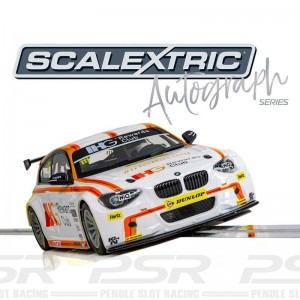 Scalextric Autograph Series BMW 125 Series 1 Andy Priaulx