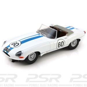 Scalextric Jaguar E-Type 60th Anniversary E1A Run 2018