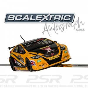 Scalextric Autograph Series BTCC Honda Civic Type R Matt Neal