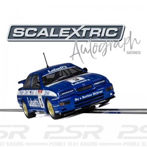 Scalextric Autograph Series Ford Sierra RS500 Tim Harvey