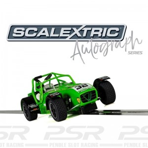 Scalextric Autograph Series Caterham Superlight Lee Wiggins