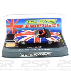 Scalextric Jaguar E-Type UK Slot Car Festival
