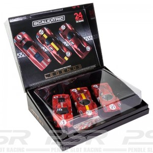 Scalextric Legends 1967 Le Mans Triple Pack - Limited Edition