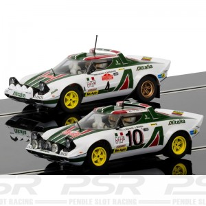 Scalextric Legends Lancia Stratos 1976 Rally Champions Twinpack
