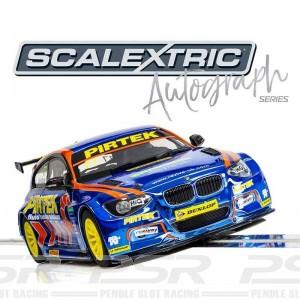 Scalextric Autograph Series BMW 125 Series 1 Andrew Jordan